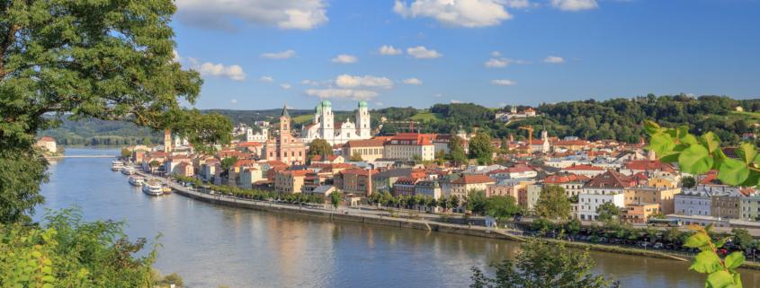 cityscape of Passau