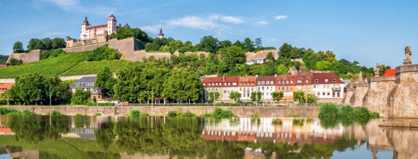 cityscape of Würzburg