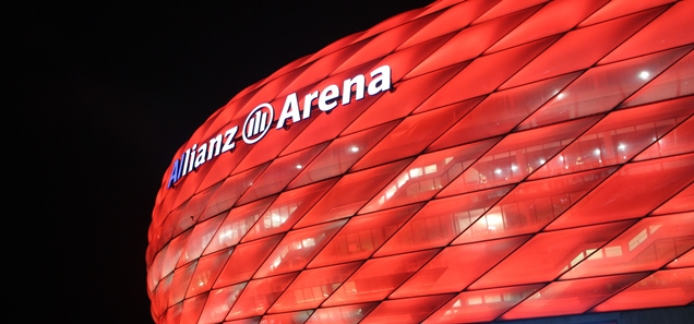 Allianz Arena, Home of the FC Bayern Munich