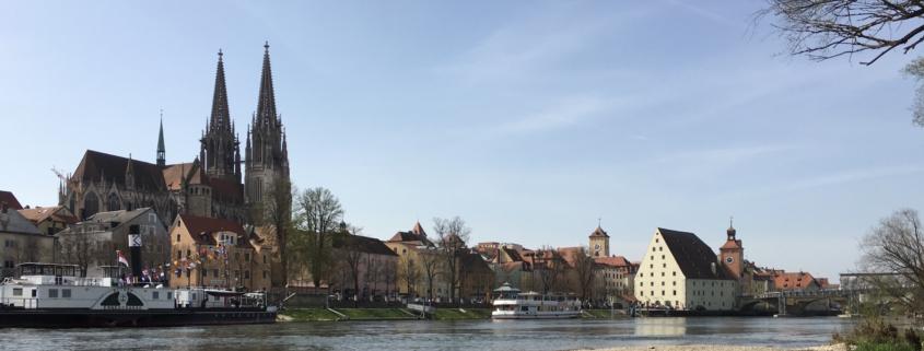 Cityscape of Regensburg