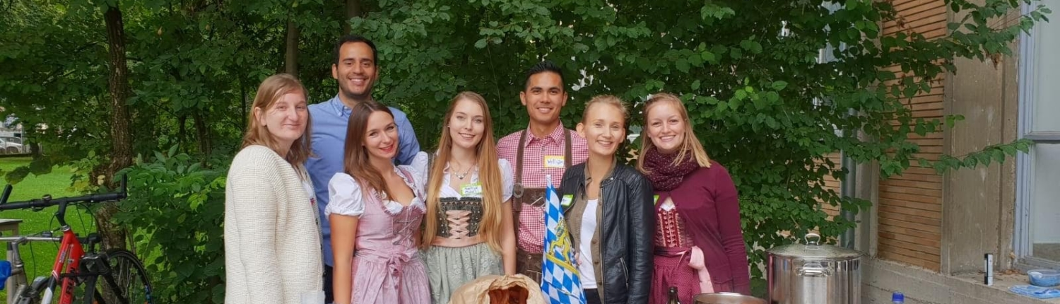 Bavarian Brunch with the I Club Members