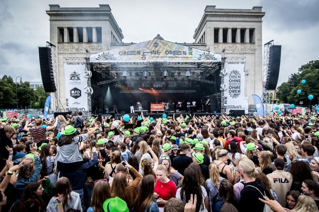 Königsplatz open air festival
