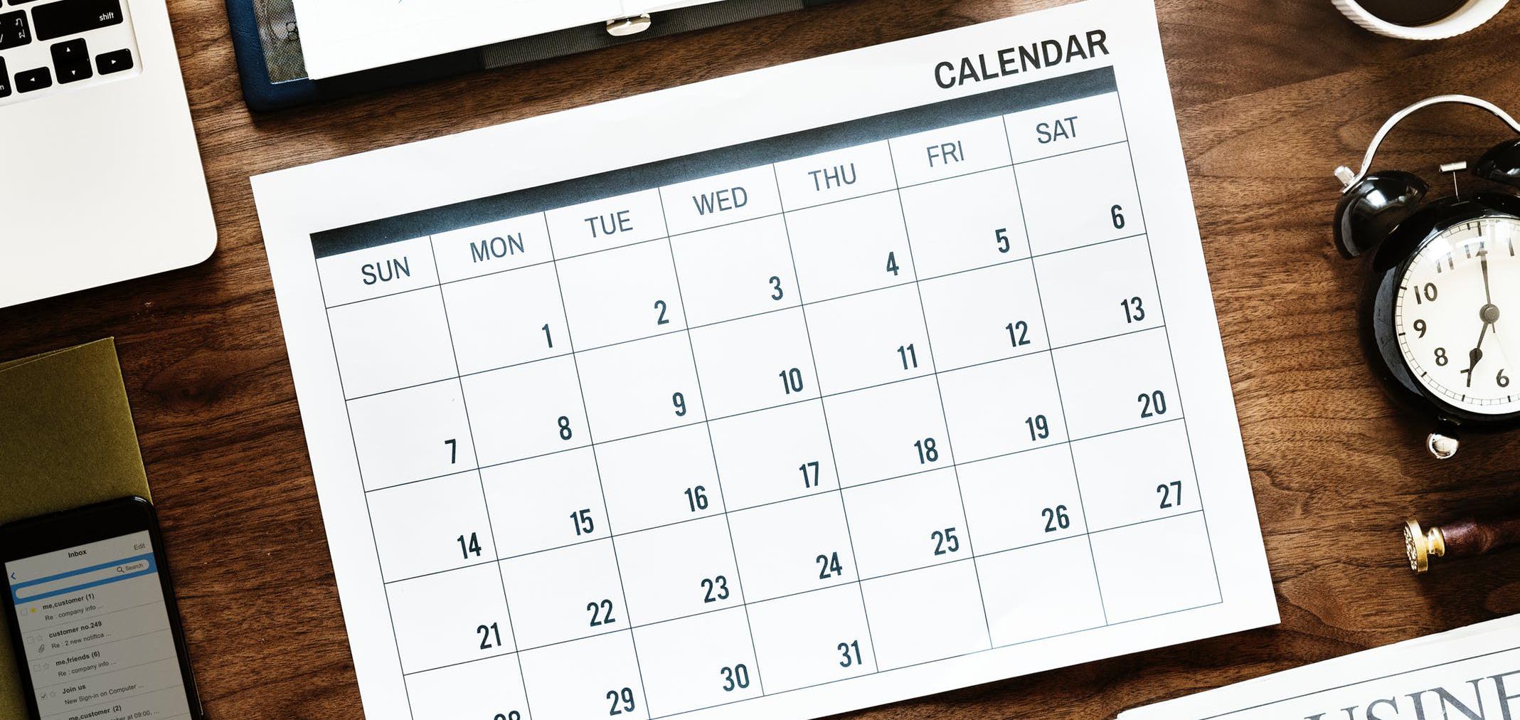 Calendar_Courses